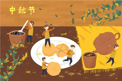 中秋节思念亲人的语句,满满都是每逢佳节倍思亲的思念